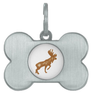 STRONG AS STANDING PET NAME TAG