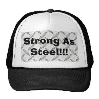 Strong As Steel!!! Cap