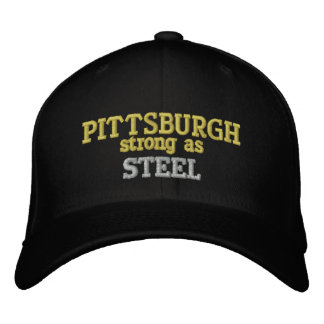 Strong As Steel Cap Embroidered Hats