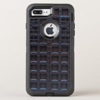 Strong Brown Iron Door OtterBox Defender iPhone 8 Plus/7 Plus Case