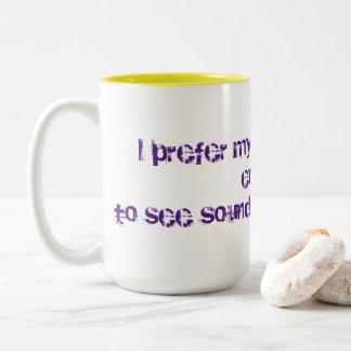 Strong coffee Two-Tone coffee mug