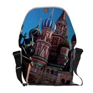 Strong colors of spring. courier bag
