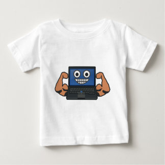 Strong Computer Baby T-Shirt