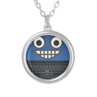 Strong Computer Silver Plated Necklace