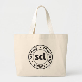 Strong Confident Living Large Tote Bag