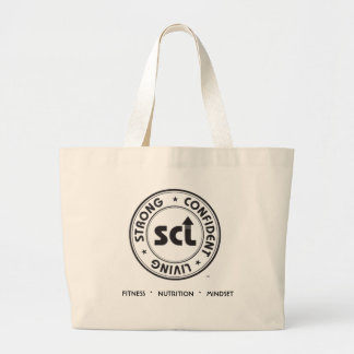 Strong Confident Living Tote