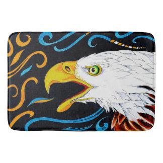 Strong Eagle Ink Art Bath Mat