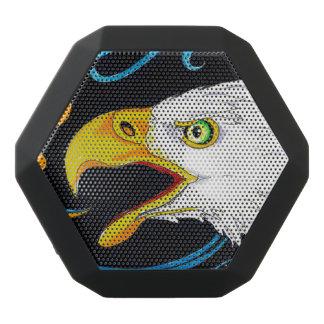 Strong Eagle Ink Art Black Bluetooth Speaker