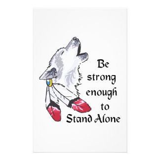 STRONG ENOGH TO STAND ALONE PERSONALISED STATIONERY