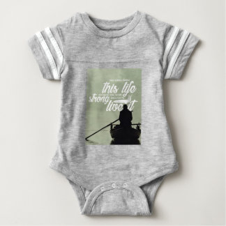 Strong Enough To Live This Life Baby Bodysuit