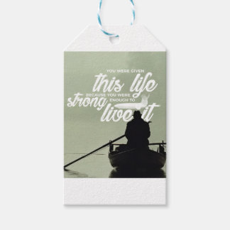 Strong Enough To Live This Life Gift Tags