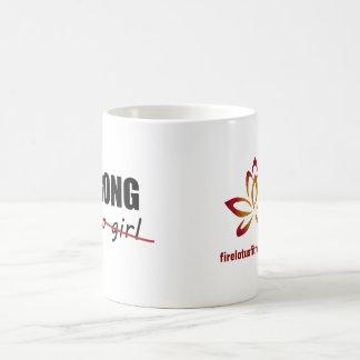 Strong (for a girl) mug