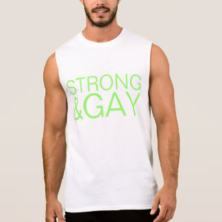 strong&gay sleeveless shirt