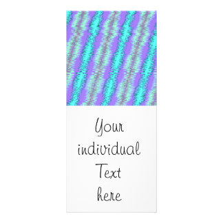 strong impulse blue full color rack card