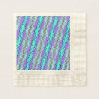 strong impulse blue paper napkin