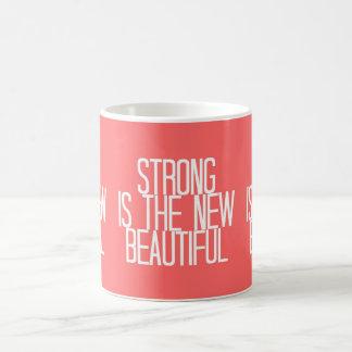 """Strong is the new beautiful"" coffee mug"
