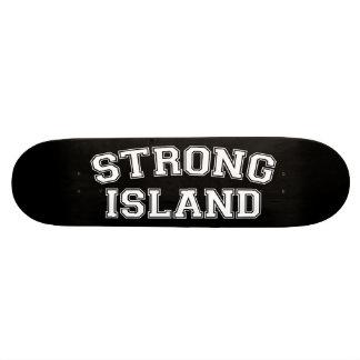 Strong Island, NYC, USA 21.6 Cm Old School Skateboard Deck