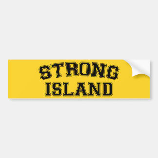 Strong Island, NYC, USA Bumper Sticker