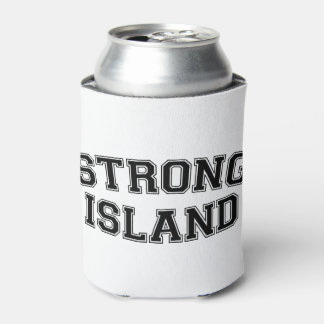 Strong Island, NYC, USA Can Cooler