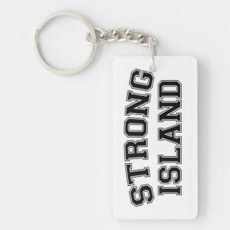 Strong Island, NYC, USA Key Ring
