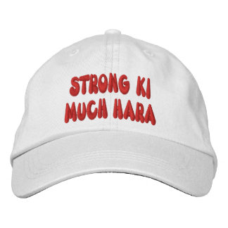Strong Ki Much Hara Cap Embroidered Hats