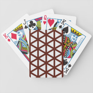 Strong lines design bicycle playing cards