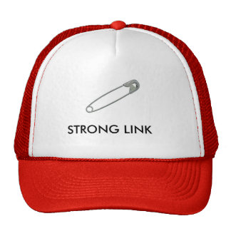 Strong Link Safety Pin Hat
