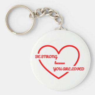 Strong Love Key Ring