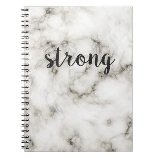 Strong marble notebook