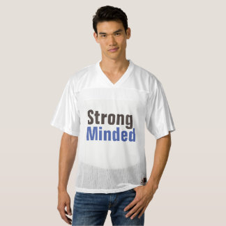 strong minded men's football jersey