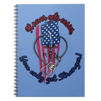 Strong Nurse note pad Spiral Notebook