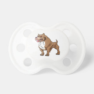 strong pitbull bodybuilder. pacifiers