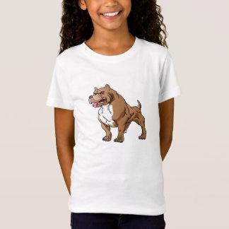 strong pitbull bodybuilder. T-Shirt
