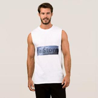 strong sleeveless shirt