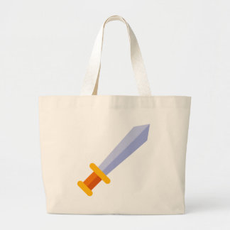 Strong Sword Large Tote Bag