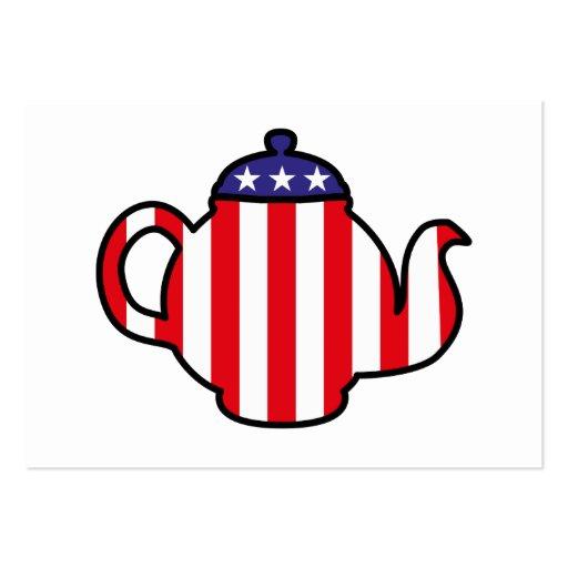 Strong Tea Party logo Business Card