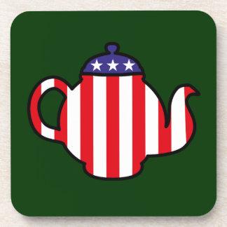 Strong Tea Party logo Drink Coaster