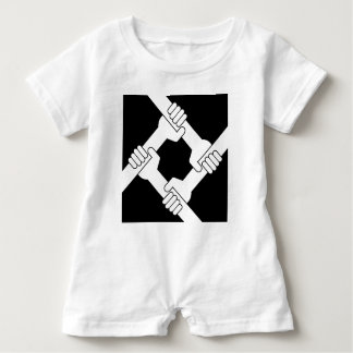 strong together baby bodysuit