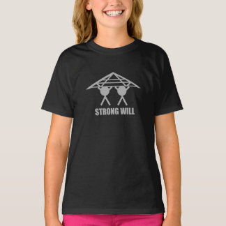 STRONG WILL BLACK T-SHIRT
