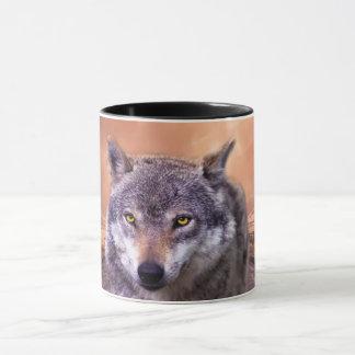 Strong wolf mug