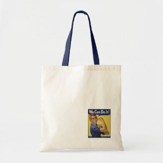 Strong Woman Budget Tote Bag