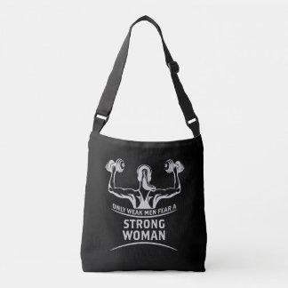 Strong Woman Dark Sling Bag