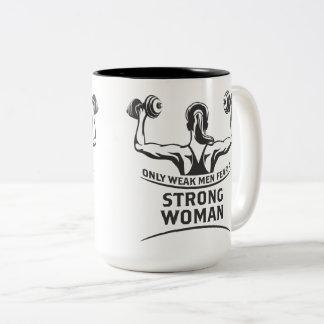 Strong Woman Large Mug