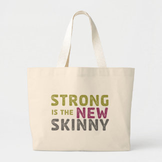Stronge is the New Skinny - Sketch Canvas Bags