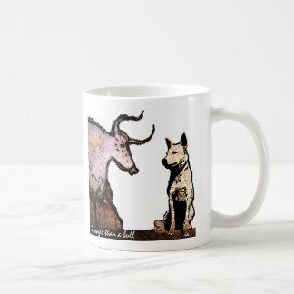 Stronger than a Bull Left Handed Coffee Mug