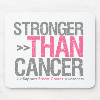Stronger Than Cancer - Breast Cancer Mousepad
