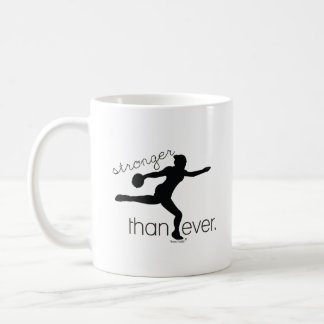 Stronger Than Ever Discus Throw Coffee Mug Gift