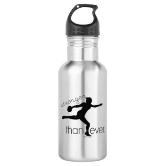Stronger Than Ever Discus Throw Water Bottle Gift
