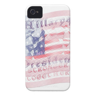 Stronger together USA Hillary 4 President American iPhone 4 Covers