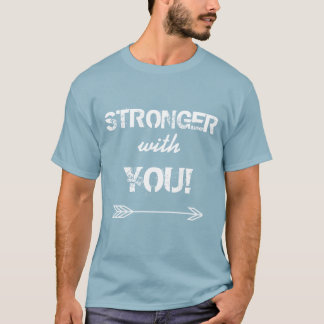 STRONGER with You Boyfriend Stonewashed Blue T-Shirt